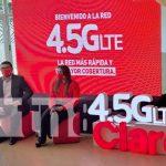 Conferencia de prensa de Claro Nicaragua sobre la Red 4.5 G