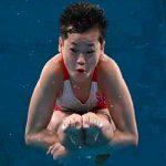 Hongchan Quan, la atleta de 14 años que realizo tres clavados perfectos