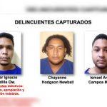 Diapositivas de la Policía Nacional por la incautación de cocaína