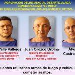 Foto: 'Fuera las fechorías' de 65 delincuentes en Nicaragua / PN
