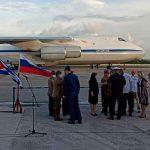 Llega a Cuba vuelo con ayuda solidaria de Rusia
