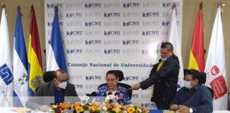 CNU sostiene encuentro para fortalecer educación superior en Nicaragua