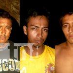 Policía Nacional captura a 3 delincuentes en pleno robo en Tipitapa / FOTO / TN8