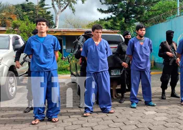 Capturan a varios sujetos acusados de homicidio en Masaya