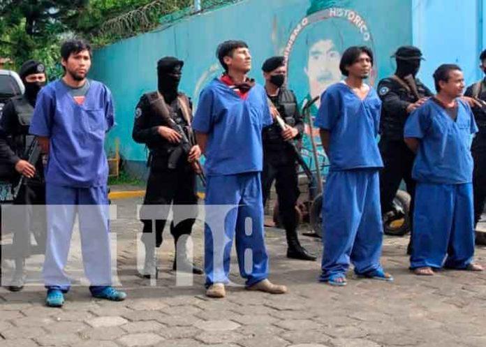 Capturan a varios sujetos acusados de homicidio en Masaya / FOTO / TN8