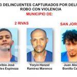 Los detenidos son señalados por delitos como robo en sus diferentes modalidades