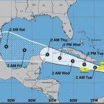 La depresión tropical Grace podría cobrar fuerza el martes