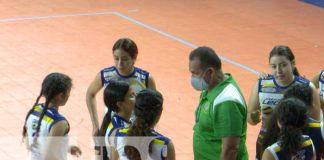 Desarrollan contienda final de voleibol de los Juegos Juveniles Managua