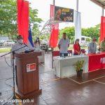 Inicio de campeonato universitario de la UPOLI y ALMA