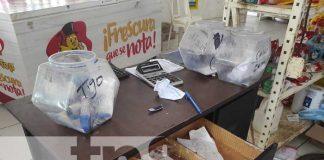 Distribuidora que fue robada por delincuentes en Managua