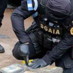 Decomisa en Guatemala 245 kilos de cocaína