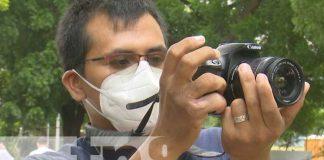 Conferencia de prensa del concurso de fotografía Eco Zoom