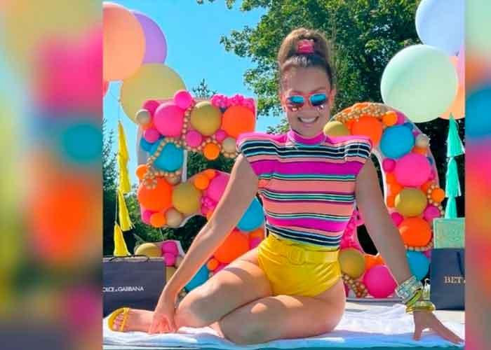 Thalía celebra sus 50 años