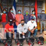 Aumento en la producción en el municipio de Condega