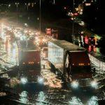 Tormentas causan apagones y cierres de carreteras en Estados Unidos