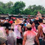 Juigalpa celebró el recorrido de La Gigantona en las fiestas patronales / FOTO / TN8