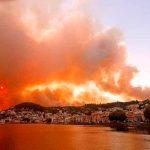 Grecia continúa en alerta debido a feroces incendios