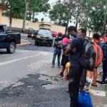 Agentes de la policía de Guatemala encuentran a 41 migrantes
