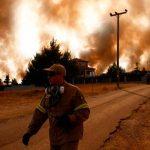 Al menos 90 muertos en incendios en Argelia