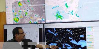 Conferencia del INETER sobre próximas lluvias en Nicaragua