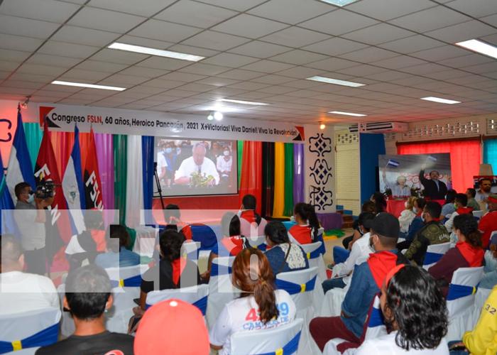 En Jalapa, Nueva Segovia, ratificaron su respaldo a la fórmula del FSLN