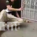 Ladrón que fue retenido por pobladores de Monseñor Lezcano