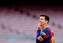 Entre lágrimas Lionel Messi se despide del FC Barcelona