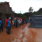 Dos muertos y más de 20 mil afectados en Guatemala por lluvias