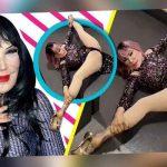 Lyn May asombra al mostrar que tan flexible es a sus 68 años