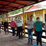 Inauguran galera, establecimiento de pasto y sala de ordeño en Villa Sandino, Chontales