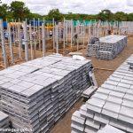 Avanza la construcción de viviendas sociales en Urbanización Flor de Pino