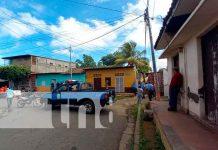 Policía de Masaya investiga la repentina muerte de un hombre