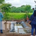 Recorrido del MEFCCA con familias protagonistas de proyectos en Nandaime