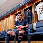 Messi tuvo su primer entrenamiento con sus nuevos compañeros del PSG(Video)
