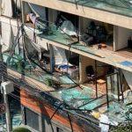Edificio dañado tras una explosión que dejó varios heridos