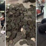 'A punta de monedas' un hombre compra un automóvil a su hijo