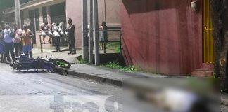 Motociclista y su acompañante mueren por maniobra imprudente en Bo. Villa Venezuela