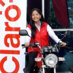 Promoción de Claro Nicaragua con rifa de motos