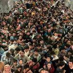 Supuesta evacuación de personas en Kabul