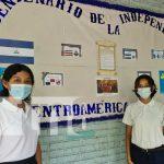 Murales en honor a fiestas patrias presentes en colegios de Managua