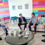 Visita de diplomático ruso a Nicaragua para ver temas de las tecnologías y cooperación