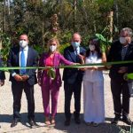 Nicaragua participó en la inauguración del jardín de América Central en Brasilia