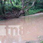 Niño muere ahogado al ser arrastrado por las corrientes en Chontales / FOTO / TN8