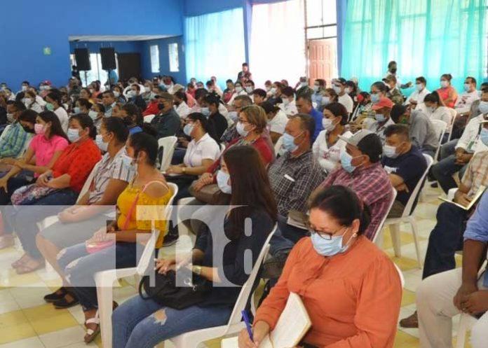 Presentación de Plan de Lucha contra la Pobreza en Estelí