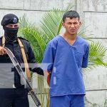 Conferencia policial sobre delincuentes capturados en Boaco