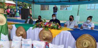 Reunión con productores de frijoles en La Concordia, Jinotega