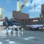 Actividad en los puertos de Nicaragua