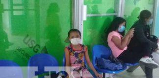 Niña que está pasando proceso de quimioterapia en Nicaragua