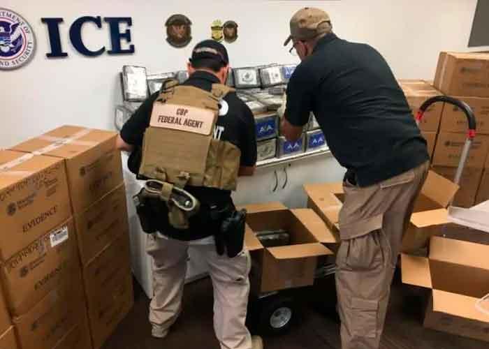 Agentes de la policía de Puerto Rico decomisa un cargamento de cocaína