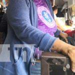 Señora señalado por cometer robo en un bus de Managua